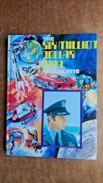 Six Million Dollar Man Annual 1978